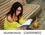 candid lifestyle portrait of... | Shutterstock . vector #1265004832