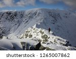Winter On Striding Edge....