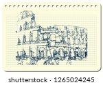 rome  italy  september  25 ... | Shutterstock .eps vector #1265024245
