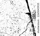 vector grunge overlay texture.... | Shutterstock .eps vector #1265045935