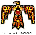 thunderbird   native american... | Shutterstock . vector #126506876