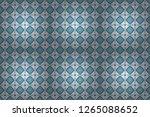 abstract retro seamless pattern ... | Shutterstock . vector #1265088652