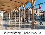 The beautiful Loggia di San Giovanni in the historic center of Udine, Friuli Venezia Giulia, Italy