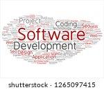 vector concept or conceptual... | Shutterstock .eps vector #1265097415