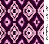 seamless pattern turkish carpet ... | Shutterstock . vector #1265133598
