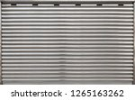 garage metal roll gate ... | Shutterstock . vector #1265163262