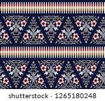 cute small seamless border...   Shutterstock .eps vector #1265180248