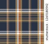 blue check diagonal seamless... | Shutterstock . vector #1265180542