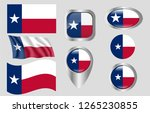 flag of texas | Shutterstock .eps vector #1265230855