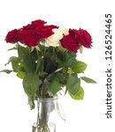 roses in a vase | Shutterstock . vector #126524465