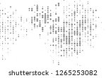 light silver  gray vector... | Shutterstock .eps vector #1265253082