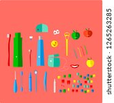 vector illustration is...   Shutterstock .eps vector #1265263285