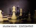 chess photographed on a... | Shutterstock . vector #1265264965