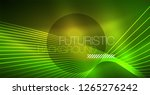 neon glowing magic background ... | Shutterstock .eps vector #1265276242