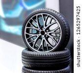 magnesium alloy car wheel rims... | Shutterstock . vector #1265297425
