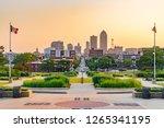 Des Moines  Iowa Skyline From...