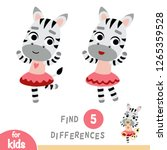 find differences  education... | Shutterstock .eps vector #1265359528