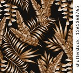 tropical abstract color brown... | Shutterstock .eps vector #1265368765