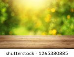 orange trees background design... | Shutterstock . vector #1265380885
