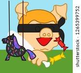 emoticon or emoji of... | Shutterstock .eps vector #1265399752