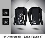 visual drawing set of elastic... | Shutterstock .eps vector #1265416555