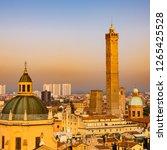 bologna  emilia romagna  italy. ...   Shutterstock . vector #1265425528