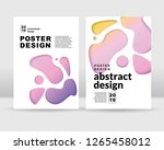 abstract background. it can be... | Shutterstock .eps vector #1265458012