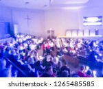blurred abstract tradition of... | Shutterstock . vector #1265485585