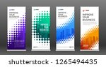 construction roll up banners...   Shutterstock .eps vector #1265494435