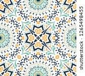 ethnic pattern. mediterranean...   Shutterstock .eps vector #1265498455