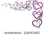 valentines day background for...   Shutterstock . vector #126551402
