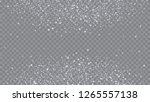 flying snow background. bbright ... | Shutterstock .eps vector #1265557138