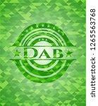 dab green mosaic emblem | Shutterstock .eps vector #1265563768