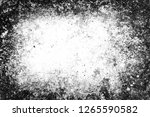 grunge abstract monochrome... | Shutterstock . vector #1265590582