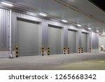 shutter door or roller door and ... | Shutterstock . vector #1265668342