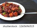 chicken 65  south india's...   Shutterstock . vector #1265696515