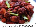 chicken 65  south india's...   Shutterstock . vector #1265696542