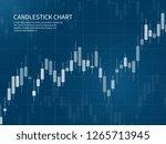 candlestick chart. financial...   Shutterstock .eps vector #1265713945