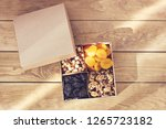 A Box Of Nuts And Dried Fruits...