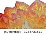 bright citrine crystals... | Shutterstock . vector #1265731612
