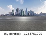 panoramic skyline and modern... | Shutterstock . vector #1265761702