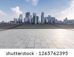panoramic skyline and modern... | Shutterstock . vector #1265762395