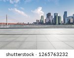 panoramic skyline and modern... | Shutterstock . vector #1265763232