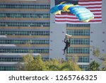 31 august 2018   sportsman... | Shutterstock . vector #1265766325