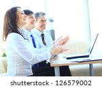 cropped image of business...   Shutterstock . vector #126579002