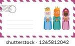 envelope of the wise men. the... | Shutterstock .eps vector #1265812042