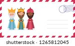 envelope of the wise men. the... | Shutterstock .eps vector #1265812045