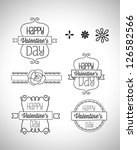vintage decorative labels eps 10 | Shutterstock .eps vector #126582566