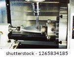 milling metalworking process.... | Shutterstock . vector #1265834185