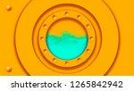 porthole in yellow submarine....